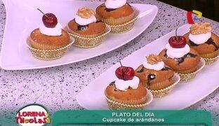Aprende a preparar unos deliciosos Cupcake de arándanos