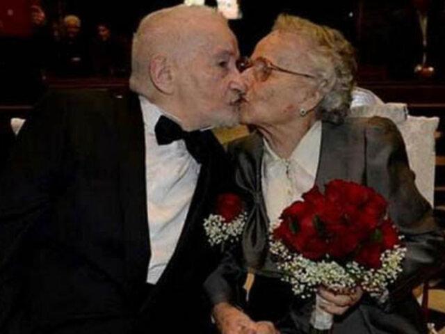 Exnovios se reencuentran después de 70 años en Facebook y se casan