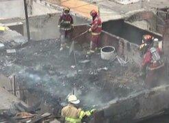 Barranco: tres precarias viviendas se quemaron al inicio del año 2015