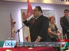 Bobby Mattos juramentó como nuevo alcalde de San Martín de Porres