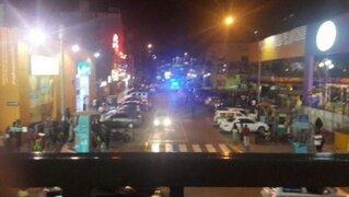 Pelea entre pandilleros causó pánico en Plaza San Miguel