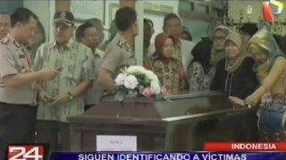 Indonesia: identifican a cuatro víctimas del vuelo 8501 de AirAsia