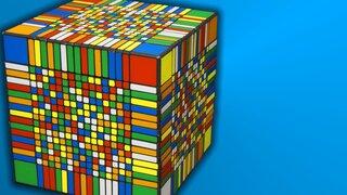 El cubo de Rubik más difícil del mundo fue resuelto en 7 horas y media