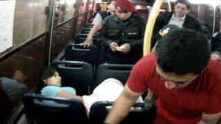 San Isidro: mujer dio a luz en bus de transporte público
