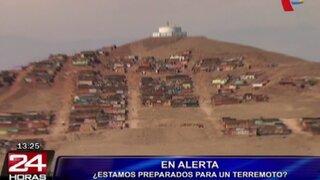 Gran mayoría de peruanos no saben cómo actuar ante un terremoto