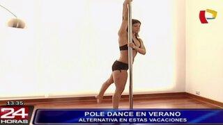 Pole Dance, una alternativa para mantener el cuerpo sano en el verano
