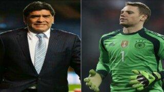Diego Armando Maradona quiere que Manuel Neuer gane el Balón de Oro