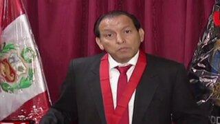 Oswaldo Ordoñez asumió la presidencia de la Corte Superior de Lima