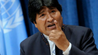 Evo Morales confirma que Belaunde Lossio ingresó de manera ilegal a Bolivia