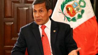 Humala asegura que el Ejecutivo hace esfuerzos para traer a Belaunde Lossio