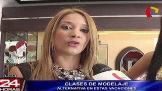 Marina Mora dictará talleres de modelaje a niñas desde los 4 años de edad