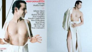 Espectáculo internacional: Bradley Cooper se desnuda para W Magazine