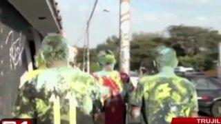 Trujillo: carnaval convocado por redes sociales termina en vandalismo