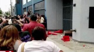 Disturbios por supuesta discriminación en casting de programa concurso