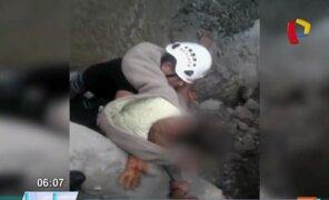 Reciclador adolescente cae al río Rímac mientras jugaba con sus amigos