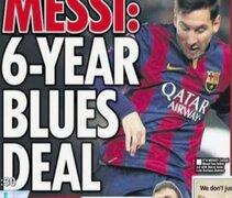 Bloque Deportivo: Messi recibiría una oferta por el Chelsea de Inglaterra