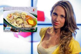 Presentadora de TV aseguró que el cebiche es 'plato bandera' chileno