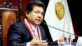 Ramos Heredia presenta recurso de reconsideración ante CNM