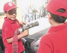 'Bomberitos': taller de vacaciones para niños de la compañía de bomberos 'Roma 2'