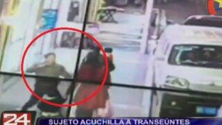 China: desquiciado acuchilló a siete personas en plena vía pública