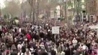 'Yo soy Charlie': Francia marcha por víctimas de atentados