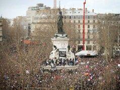 Francia: cerca de 4 millones de personas participaron de histórica movilización