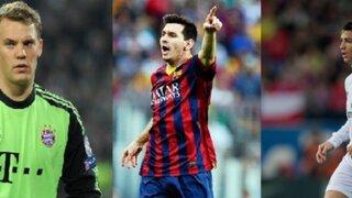 Neuer, Messi o Ronaldo, ¿Quién ganará el Balón de Oro 2014?