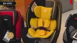 Uso de sillas para bebés en vehículos particulares es obligatorio