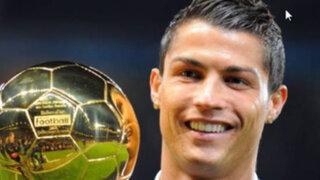 Cristiano Ronaldo ganó su tercer Balón de Oro