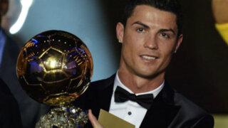 Bloque Deportivo: El grito de Cristiano Ronaldo tras ganar su tercer Balón de Oro