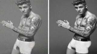 Critican apariencia de Justin Bieber en sesión fotográfica