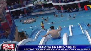 Conoce las mejores piscinas de Lima norte y sus impresionantes toboganes