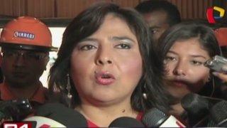 Ana Jara aseguró que nadie es indispensable en el Gabinete