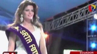 Ecuador: reina de belleza muere tras someterse a lipoescultura