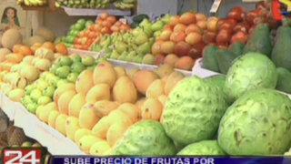 Sube precio de frutas por bloqueos de carreteras en el interior del país