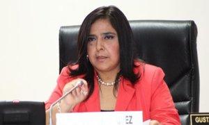 Ana Jara es invitada a Comisión de Fiscalización por denuncia de reglaje