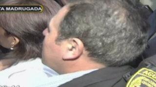 Congresista Rimarachín intenta ingresar por la fuerza a seguridad del estado
