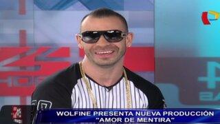 Cantante Wolfine llegó al Perú para brindar espectaculares conciertos