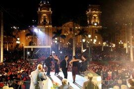 Lima celebrará 480º aniversario con serenata en Plaza de Armas