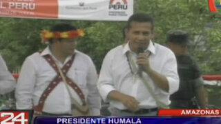Presidente Ollanta Humala pide tolerancia a fonavistas