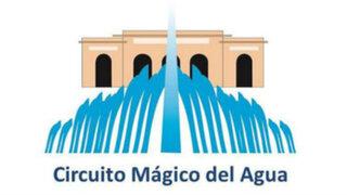 FOTOS: El nuevo Circuito Mágico del Agua y la polémica por su logo