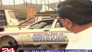 Carmen de la Legua: declaran emergencia administrativa y sanitaria en municipio