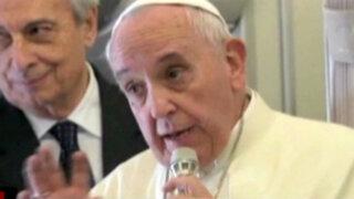 Papa Francisco visitaría Perú durante su gira del 2016