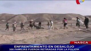Nasca: más de 300 familias fueron desalojadas de zona arqueológica