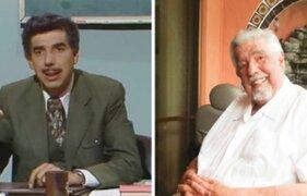 Rubén Aguirre acusa desinterés de asociación de actores por su estado de salud