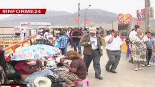 Informe 24: caos e informalidad en exteriores de centros comerciales de la capital
