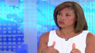 "Cecilia Tait sobre denuncia de reglaje: ""Presidente Ollanta Humala tiene temor"""