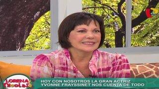 Yvonne Frayssinet habla de su vida íntima en Lorena y Nicolasa