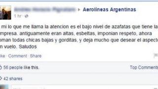 La impecable respuesta de Aerolíneas Argentina que se ha convertido en viral