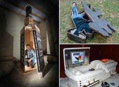Hilarantes: los 10 ataúdes más extravagantes donde jamás querrás ser enterrado